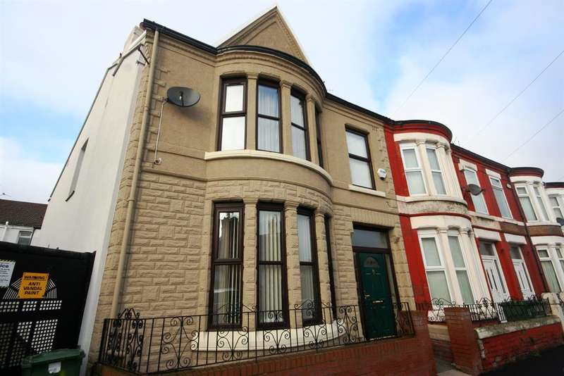 4 Bedrooms End Of Terrace House for sale in Hartismere Road, Wallasey, CH44 9DU