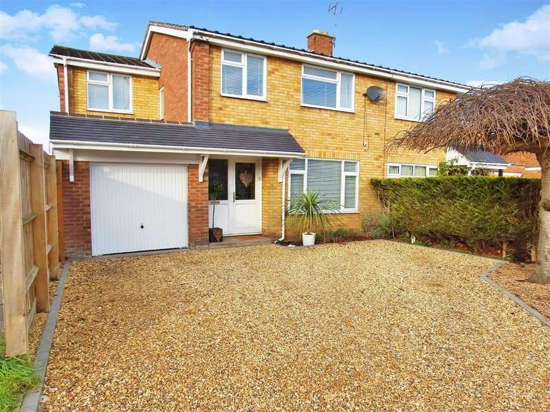 4 Bedrooms Semi Detached House for sale in Rugby Road, Cubbington, Leamington Spa, CV32