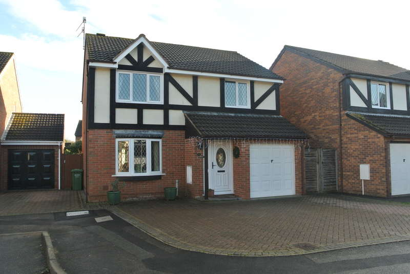 4 Bedrooms Detached House for sale in Foxglove Close, Evesham