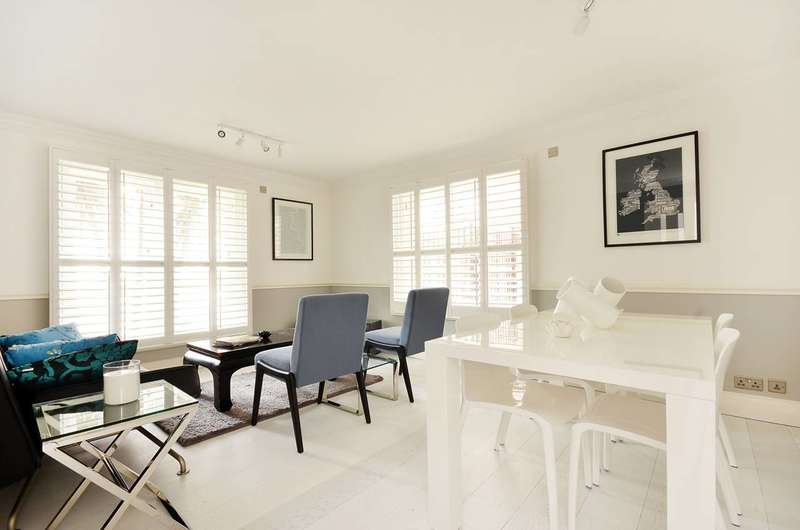 2 Bedrooms Flat for sale in Grosvenor Road, Pimlico, SW1V