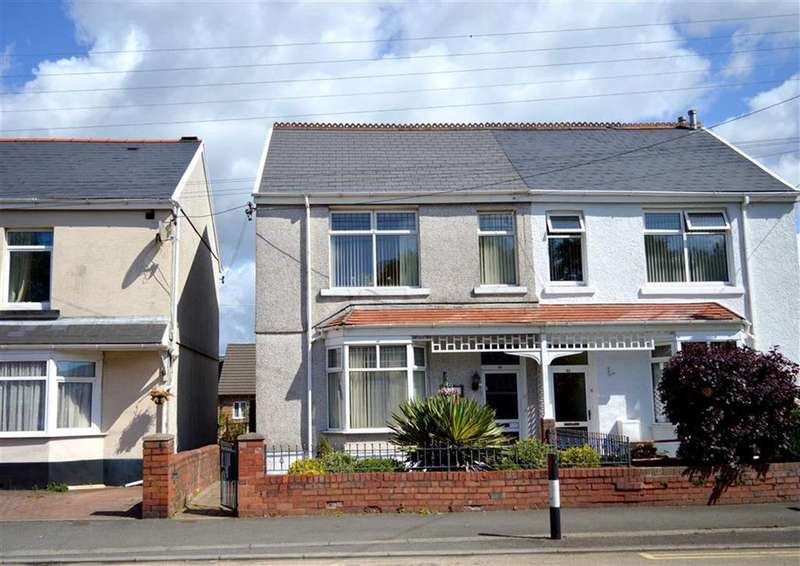2 Bedrooms Semi Detached House for sale in Gorwydd Road, Gowerton, Swansea