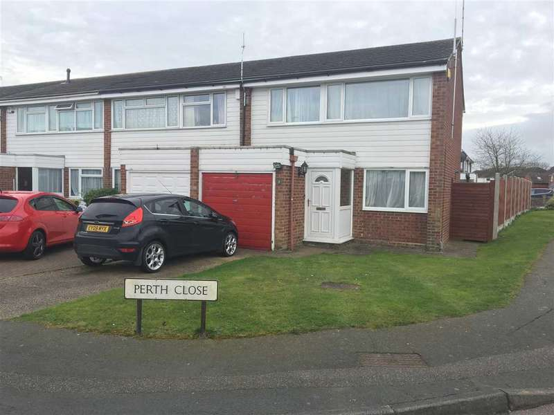 3 Bedrooms End Of Terrace House for sale in Perth Close, Colchester