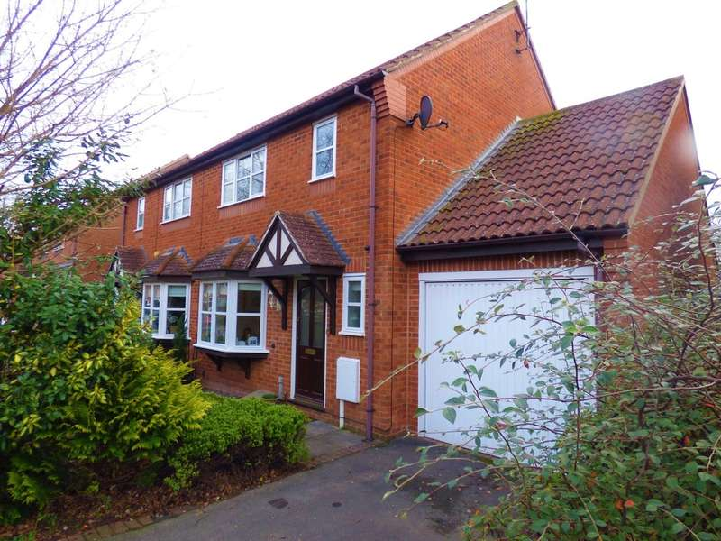 3 Bedrooms Semi Detached House for sale in Cobham Green, Whitnash