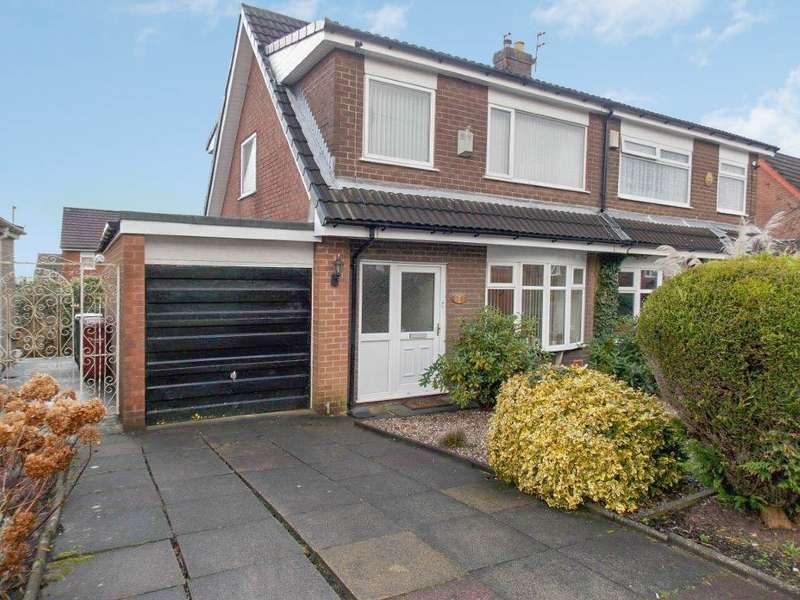 3 Bedrooms Semi Detached House for sale in Fairways, Horwich, Bolton, BL6