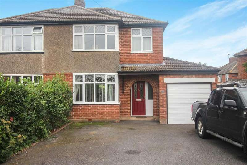3 Bedrooms Semi Detached House for sale in Moorhill Road, Whitnash, Leamington Spa