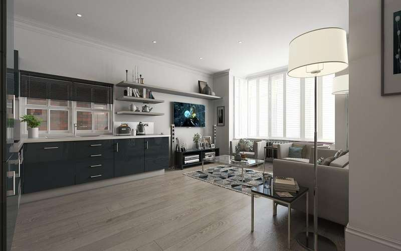 1 Bedroom Flat for sale in Buxton Gardens, Acton W3
