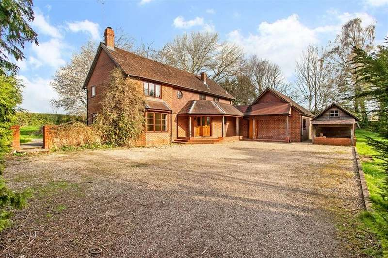 5 Bedrooms Detached House for sale in Houghton, Stockbridge, Hampshire