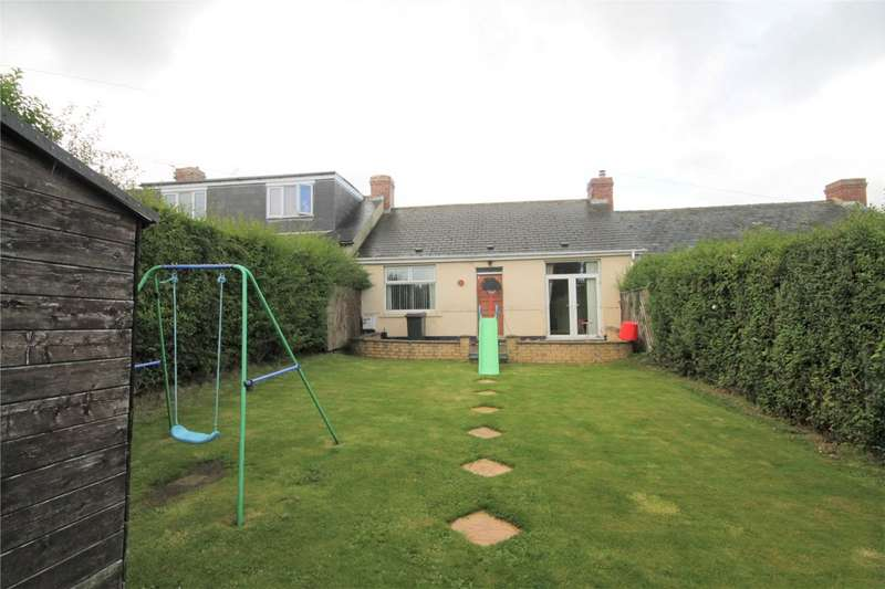2 Bedrooms Terraced Bungalow for sale in Second Street, Watling Bungalows, Leadgate, Consett, DH8