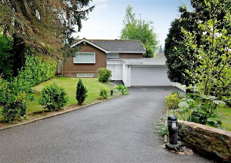 3 Bedrooms Detached House for sale in Blue Firs, 33, Grove Lane, Wightwick, Wolverhampton, West Midlands, WV6