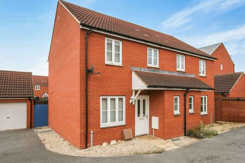 3 Bedrooms Property for sale in Orkney Close North Petherton, Bridgwater
