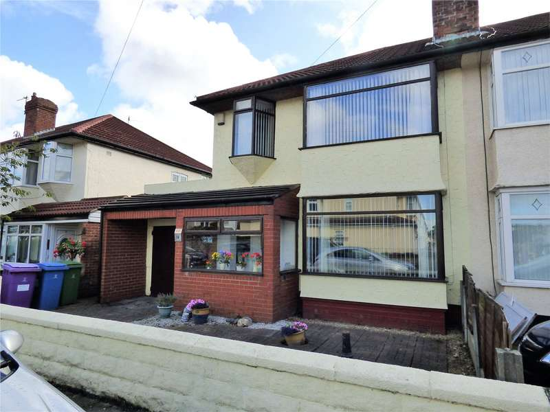 3 Bedrooms Semi Detached House for sale in Eaton Gardens, Liverpool, Merseyside, L12