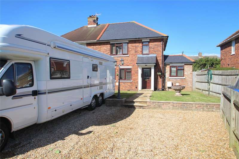 4 Bedrooms Semi Detached House for sale in Shirley Close, Shoreham-By-Sea, West Sussex, BN43