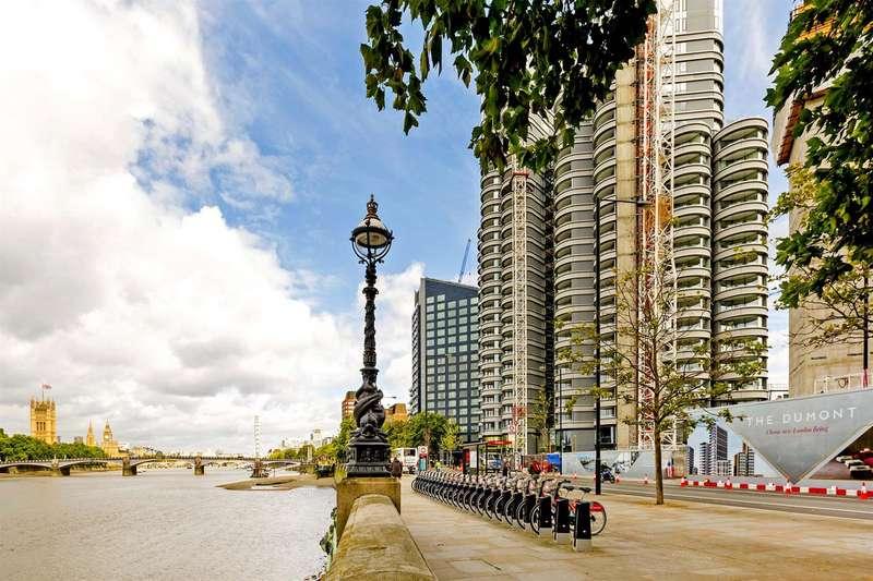 3 Bedrooms Flat for sale in The Corniche, Tower Two, 20 Albert Embankment, Nine Elms, London SE1