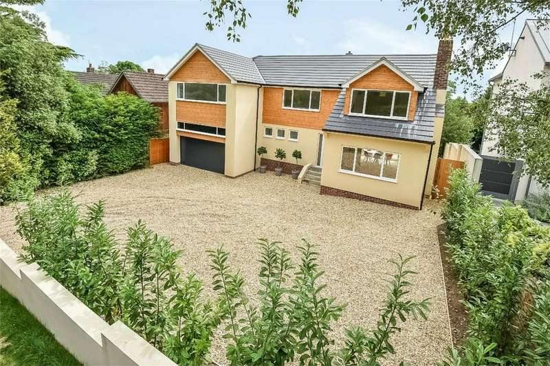 5 Bedrooms Detached House for sale in Sleepers Hill, Winchester, Hampshire