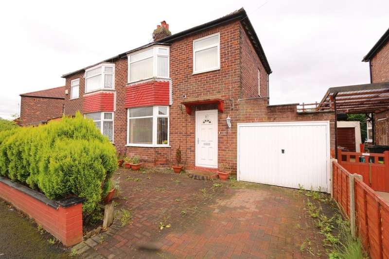 3 Bedrooms Semi Detached House for sale in Westbourne Road, Denton, Manchester, M34
