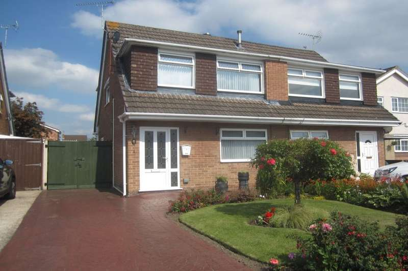 3 Bedrooms Semi Detached House for sale in Lansdowne Road, Crewe, CW1