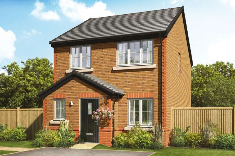 3 Bedrooms Detached House for sale in Orchard Fields Newcastle Road, Shavington, Crewe, CW2