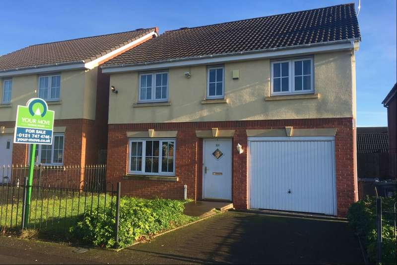 4 Bedrooms Detached House for sale in Freasley Road, Birmingham, B34