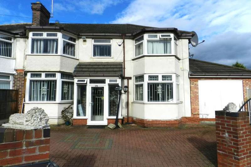 4 Bedrooms Semi Detached House for sale in Bromford Road, Hodge Hill, Birmingham, B36