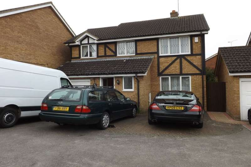 4 Bedrooms Detached House for sale in Swan Mead, Luton, LU4