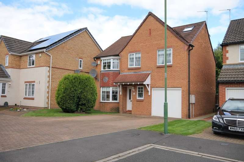 6 Bedrooms Detached House for sale in Norham Court, Woodstone Village, Houghton Le Spring, DH4