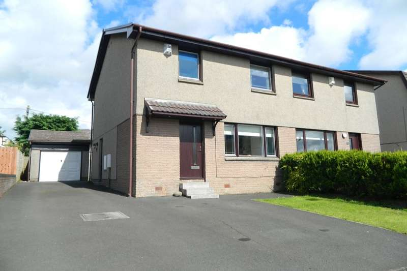 3 Bedrooms Semi Detached House for sale in Highburgh Avenue, Lanark, ML11