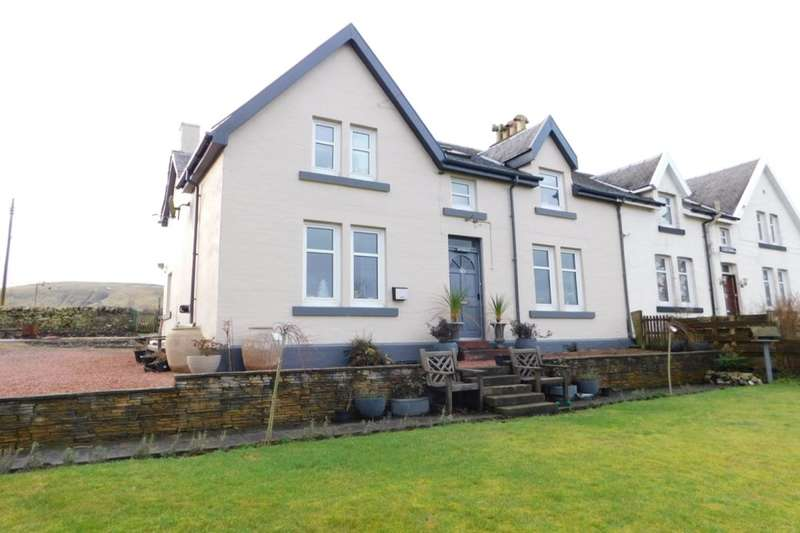 3 Bedrooms Semi Detached House for sale in Dumfries Road, Elvanfoot, Biggar, ML12