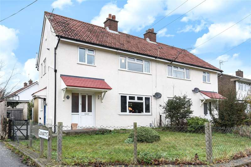 1 Bedroom Maisonette Flat for sale in Grove Crescent, Croxley Green, Rickmansworth, Hertfordshire, WD3