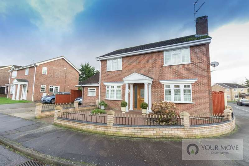 4 Bedrooms Detached House for sale in Ninfield Close, Carlton Colville, Lowestoft, NR33