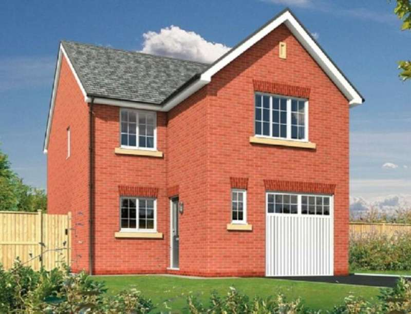 4 Bedrooms Detached House for sale in The Paddocks, Sandy Lane, Higher Bartle, Preston, PR4