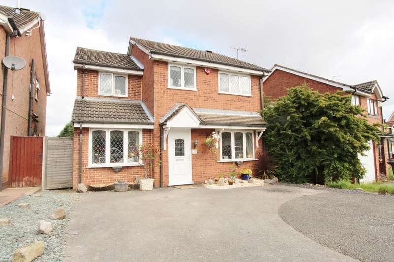 4 Bedrooms Detached House for sale in Hatton Gardens, Nuthall, Nottingham, NG16