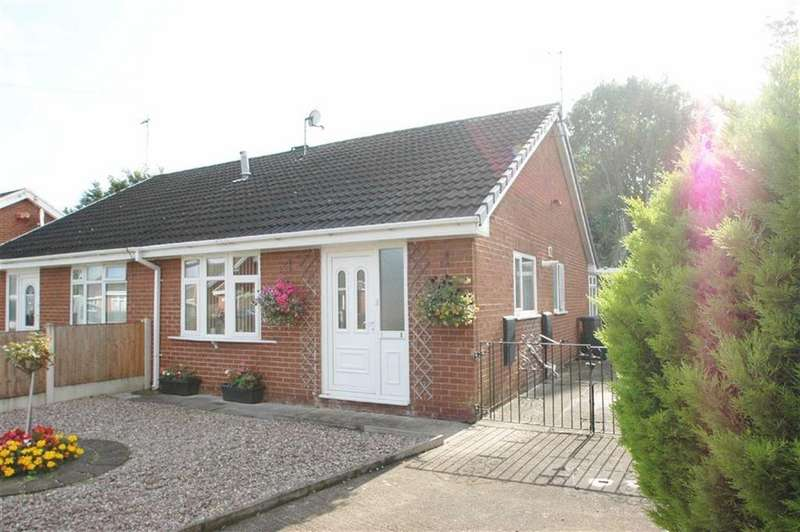 2 Bedrooms Semi Detached Bungalow for sale in Shrewsbury Way, Saltney
