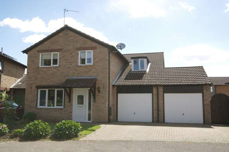 4 Bedrooms Detached House for sale in Swansgate, Norwich, NR6