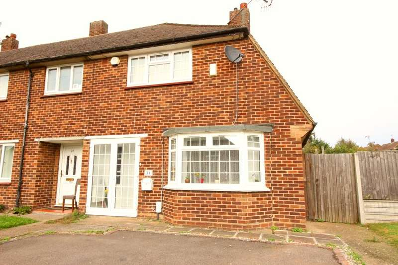 2 Bedrooms Semi Detached House for sale in Elizabeth Way, Orpington, BR5