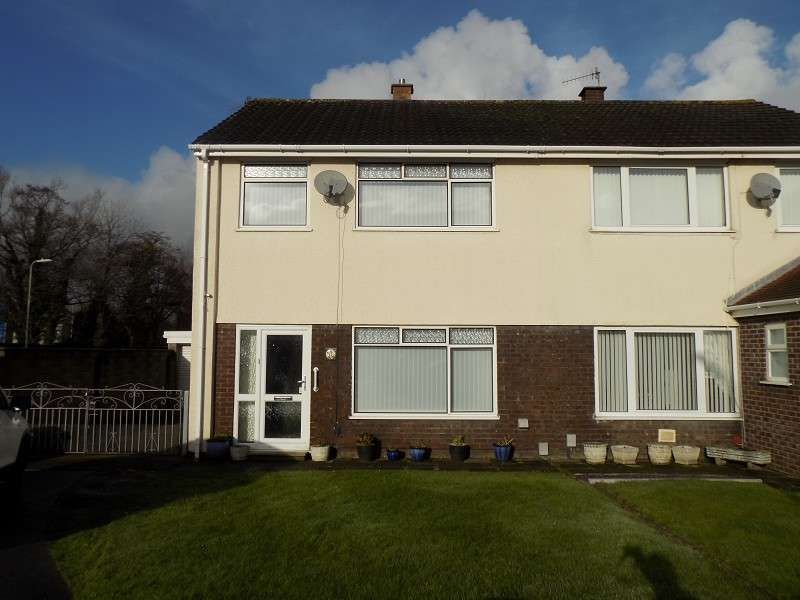 3 Bedrooms Semi Detached House for sale in Heol Y Nant , Baglan, Port Talbot, Neath Port Talbot. SA12 8ER