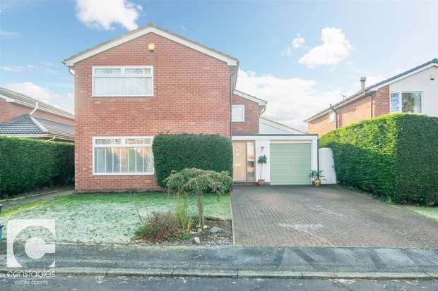 4 Bedrooms Detached House for sale in Woodfall Grove, Little Neston, Neston, Cheshire