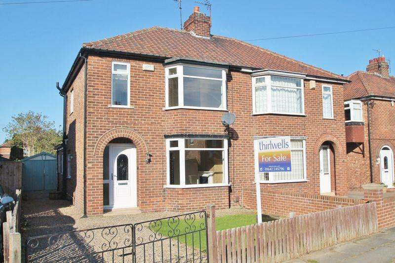 3 Bedrooms Semi Detached House for sale in Rydal Avenue, Acklam