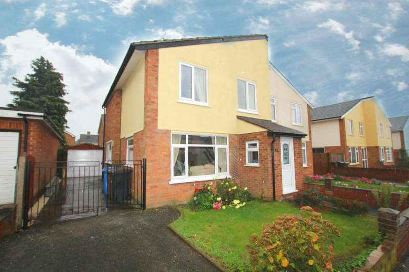 3 Bedrooms Semi Detached House for rent in Lonsdale Close, Ipswich