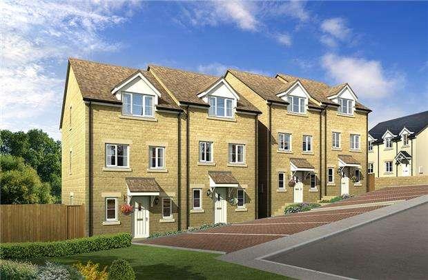 4 Bedrooms Town House for sale in Blenheim Rise, Randwick, Stroud, Glos, GL6 6JY