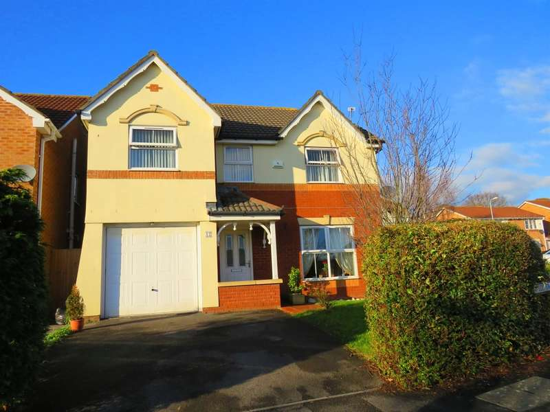 4 Bedrooms Detached House for sale in Llys Gwent, Barry