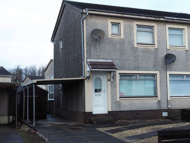 2 Bedrooms Semi Detached House for sale in 19 Cathkin Place, Kilwinning, KA13 6TP