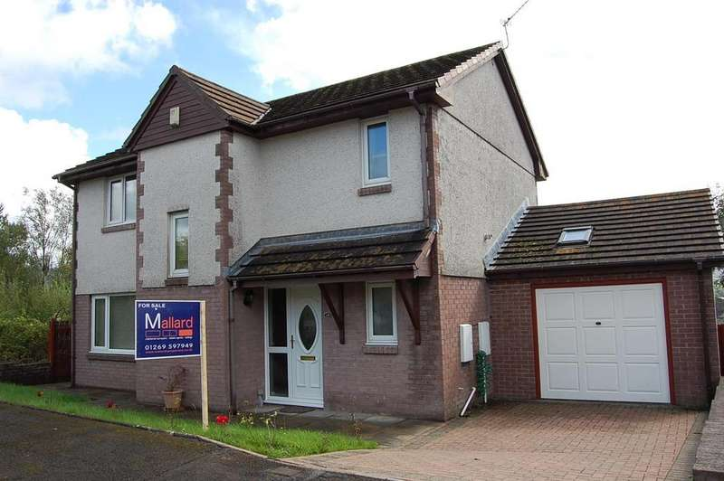 4 Bedrooms Detached House for sale in Y Gorsedd, Ammanford