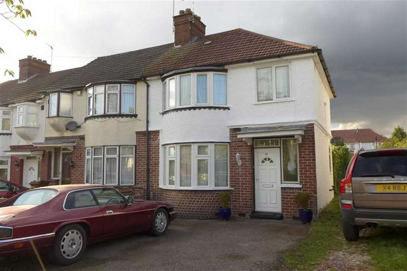 3 Bedrooms End Of Terrace House for sale in Dryden Road, Harrow Weald, Middlesex