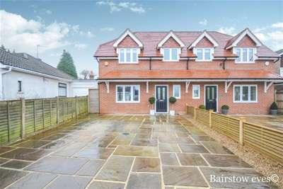 5 Bedrooms Semi Detached House for rent in Aperfield Road TN16,