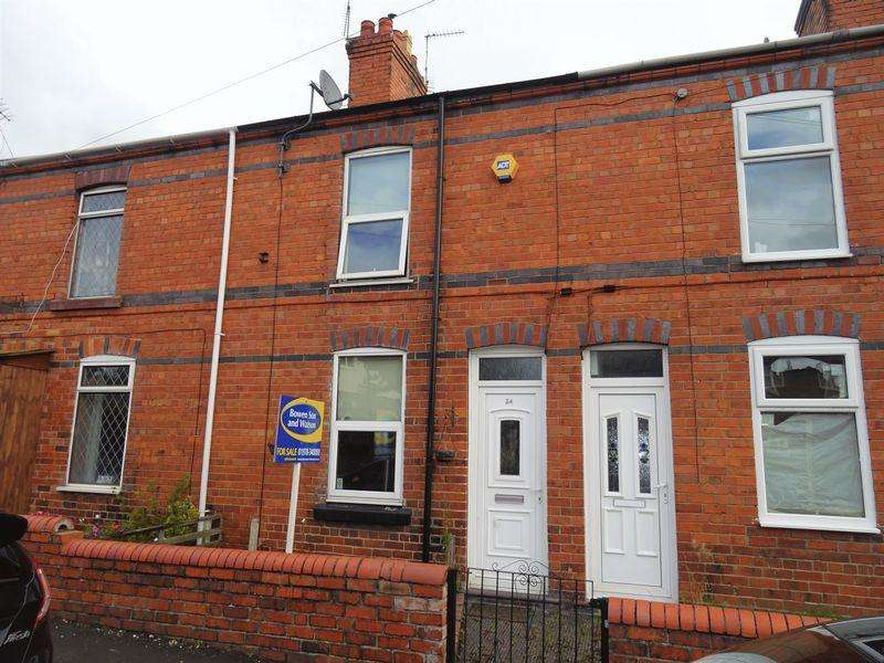 2 Bedrooms Terraced House for sale in Church Street, Wrexham