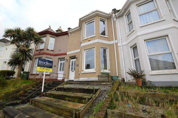 3 Bedrooms Terraced House for sale in St. Georges Terrace, Plymouth, Devon