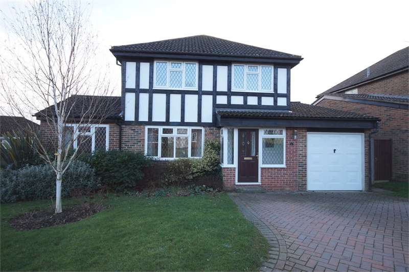 4 Bedrooms Detached House for sale in Melksham Close, Lower Earley, READING, Berkshire