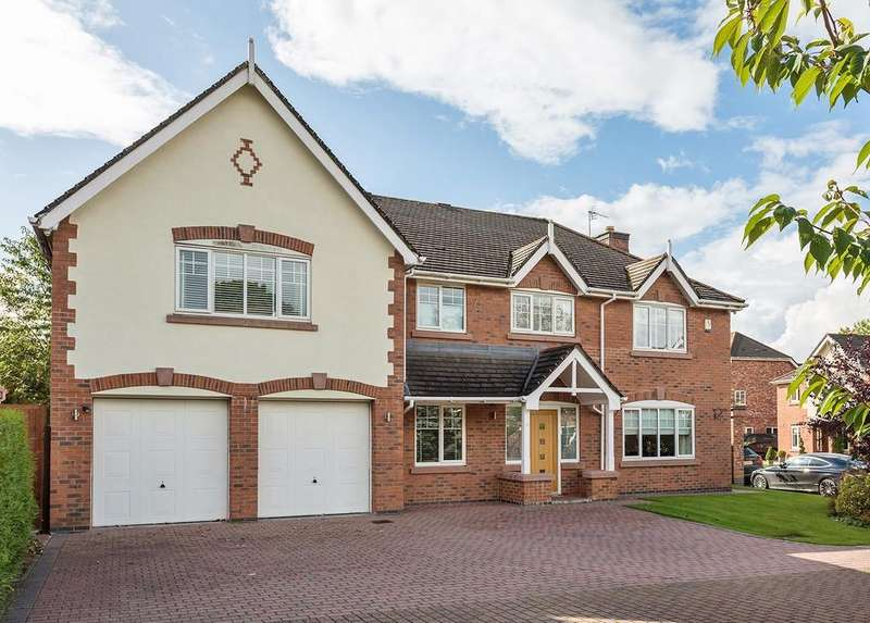 5 Bedrooms Detached House for sale in Dunlin Rise, Tytherington