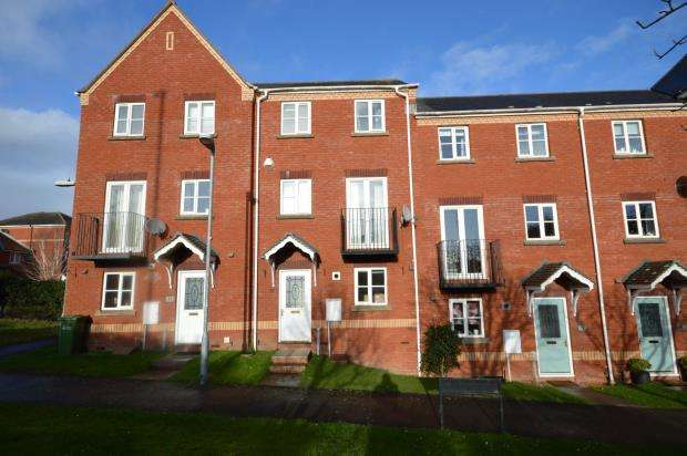 3 Bedrooms Terraced House for sale in Lewis Crescent, Clyst Heath, Exeter, Devon