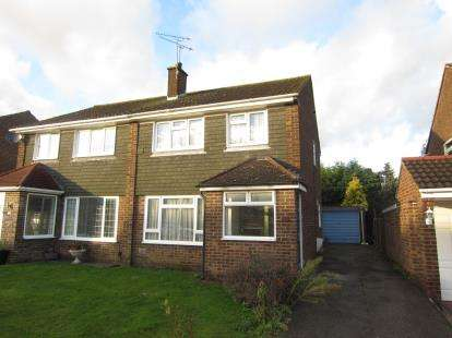 3 Bedrooms Semi Detached House for sale in Pilgrims Hatch, Brentwood, Essex